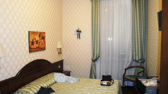Hotel Boccaccio: our room