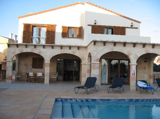 Cala'n Forcat, Spanyol: Villa Candela, Calan Forcat