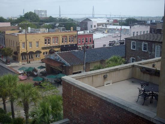 French Quarter Inn: View from our room