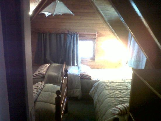 Cabañas Woodland: Habitación cuádruple (cabaña de 8)