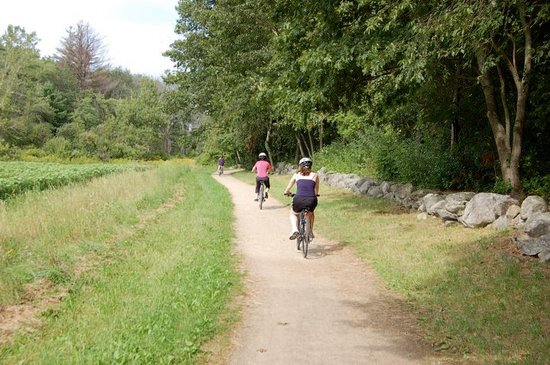 Concord Bike Tours: Riding just east of Concord