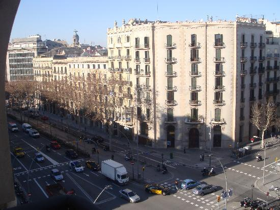 El Palace Hotel: View from my room