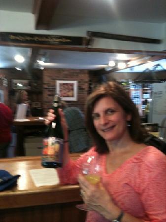 Galena Cellars Vineyard: they have mimosas too