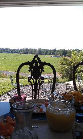 A Room With a View: Breakfast with a view!