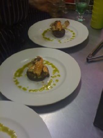 Manoir Becancourt : Restaurant food