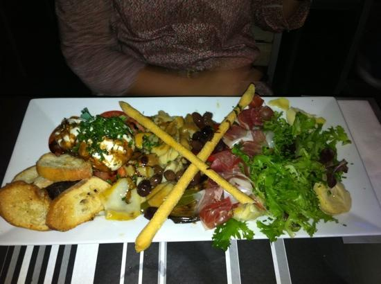 Cafe valmer : Assiette Italienne