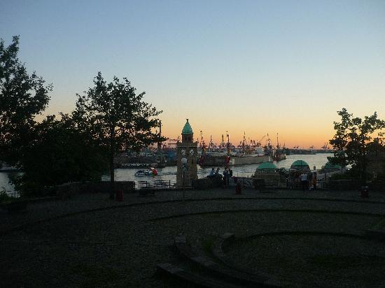 """Jugendherberge Hamburg """"Auf dem Stintfang"""": La magnifica vista!!"""