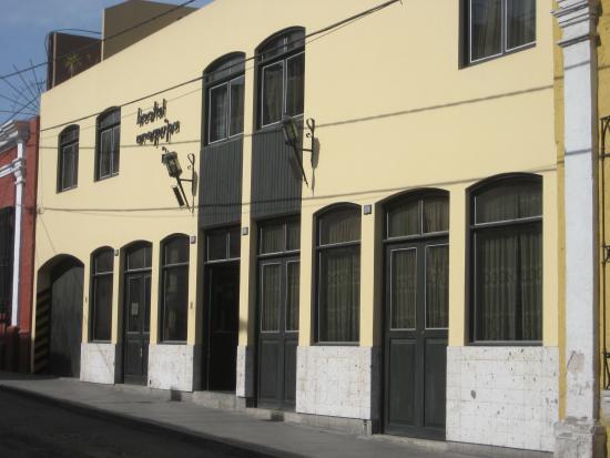 Hostal Arequipa Inn: Fachada