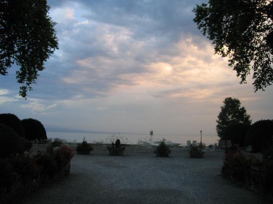 Chateau de Coudree: panorama magnifique