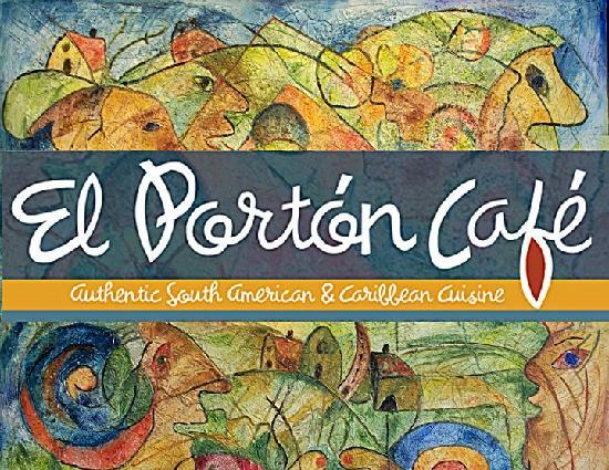 El Porton Cafe: This is our logo!