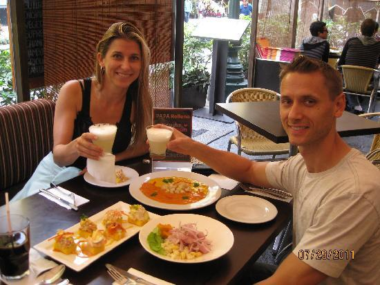 Monica Tours Peru: Yummy!