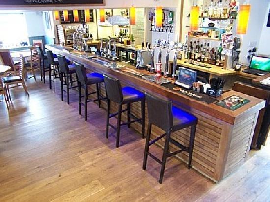 Cornishman Inn Tintagel: The Lounge Bar