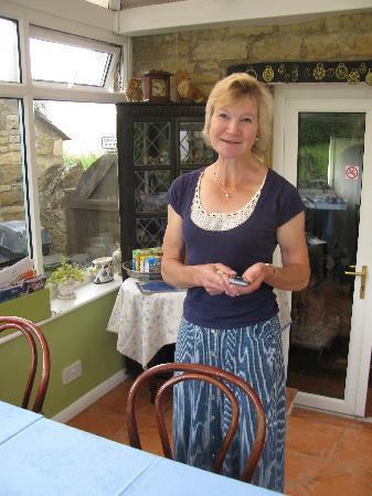 Foxhill B&B: Sue Guyatt, owner