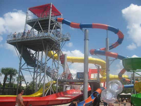 Coco Key Hotel and Water Park Resort: PART OF THE WATER PARK