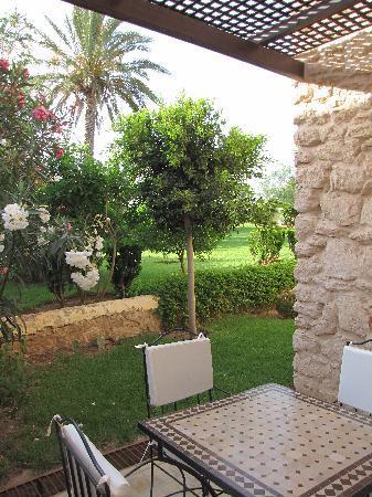 Essaouira Lodge: vue du patio