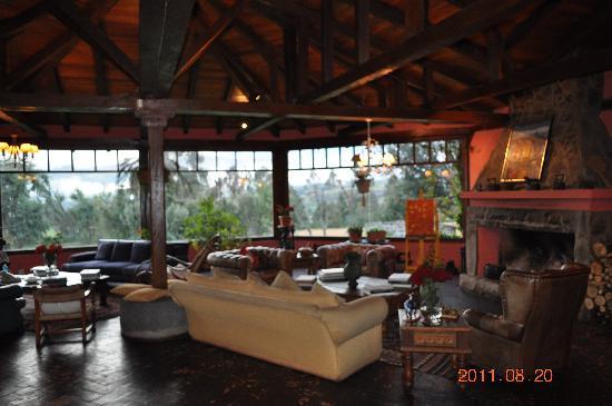 Umbria Hacienda Hotel Gourmet: Living room
