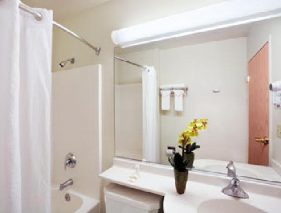 Microtel Inn & Suites by Wyndham Modesto Ceres: Guest Room Baths