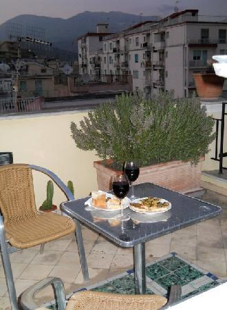 Gaeta, Italy: rooftop apperetivo