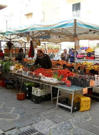 wonderful market in Gaeta