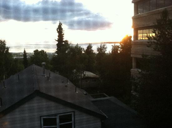 Copper Whale Inn: View from Redoubt room