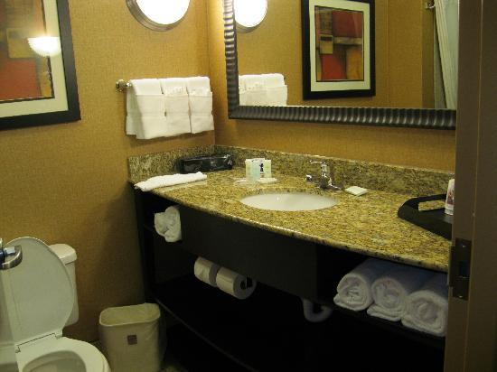 Comfort Suites At WestGate Mall: bathroom view 1