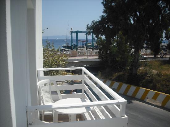 Hotel Kos Bay: Chambre avec vue sur mer