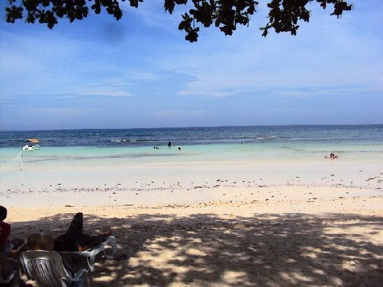 Dumaluan Beach Resort 2: Long Stretch of White Sand Beach