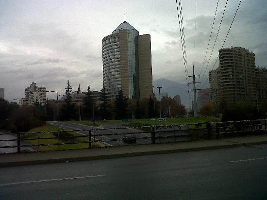 Hotel Santiago: vista del hotel