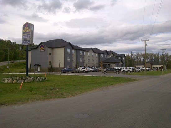 Sigma Inn & Suites Hudson's Hope: Best Western Inn, Hudson's Hope BC