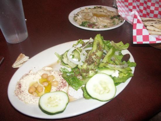Petra Cafe Lunch Menu