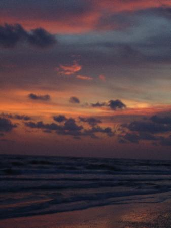 Sea Spray Resort on Siesta Key: Sunset at the beach near Sea Spray