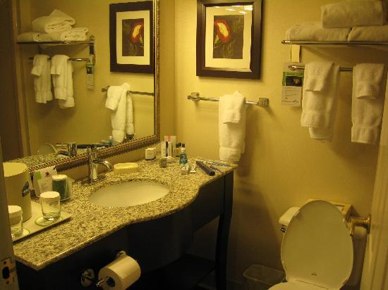 Wingate by Wyndham Latrobe : Hotel room upon arrival 4 (minus my toothbrush, etc.)