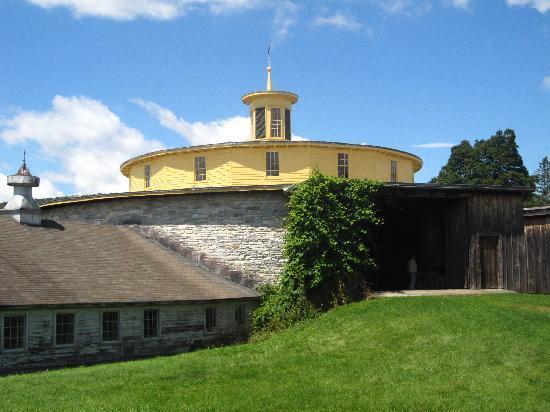 Hancock Shaker Village: The round stone barn