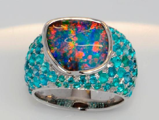 Our new Kaleidoscope range designed by The National Opal Collection