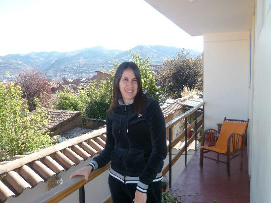 Andean South Inn: balcon de la suite