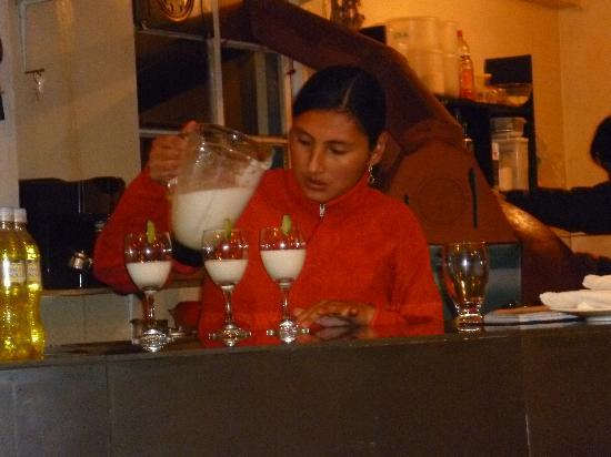 Andean South Inn: pisco sour en el resto del hotel