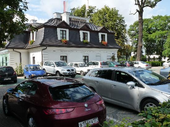 Hotel Kosciuszko: Hotel Vorderansicht