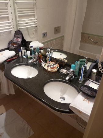 Hotel Kosciuszko: Badezimmer