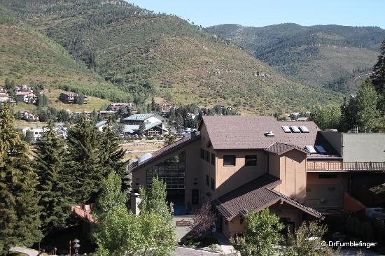 Marriott's StreamSide Douglas at Vail: View of Vail Valley and resort activity center