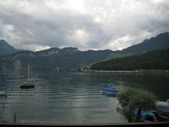 Seehotel Sternen Horw: Beautiful view of the lake and mountain
