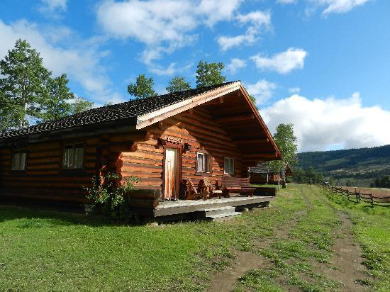 Elkin Creek Guest Ranch: our cabin