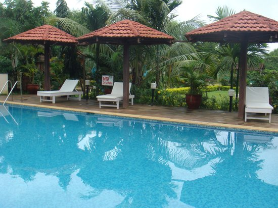 Goa Beach House: Nice pool