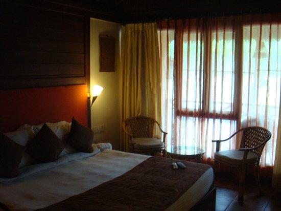 Goa Beach House: Very average rooms