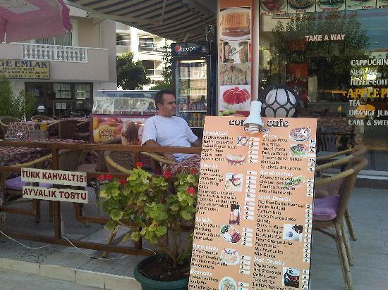 Corner Cafe Fast Food: Menu