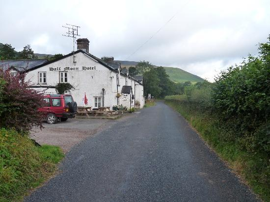 Half Moon Inn: View from the road
