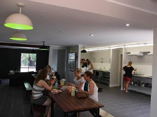 Base Backpackers Airlie Beach: Communal Kitch