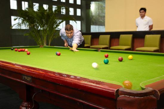 Chatrium Residence Sathon Bangkok: Snooker