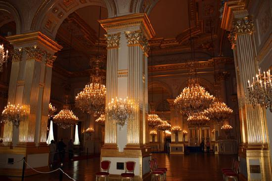 Chandeliers of the ballroom picture of royal palace palais royal palace palais royal chandeliers of the ballroom mozeypictures Gallery