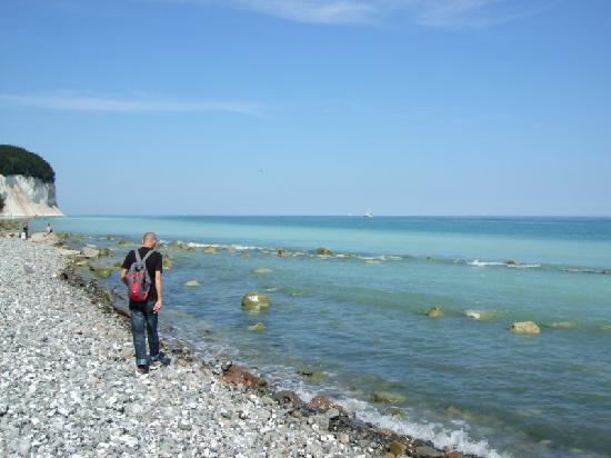 """Sassnitz, Germany: The """"road"""" to the chalk cliffs"""