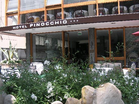 Hotel Pinocchio: ....per il piacere di concedersi piccoli vizi in amicizia.